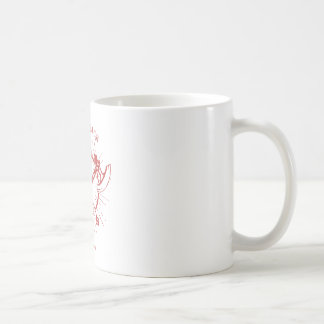 Crossed Axes Lumberjack Graphic Tee Coffee Mug