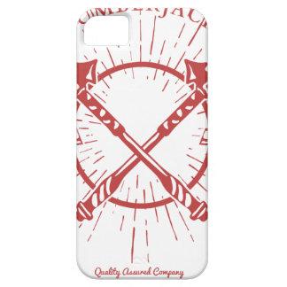Crossed Axes Lumberjack Graphic Tee iPhone 5 Case