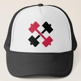 Crossed Barbells Trucker Hat