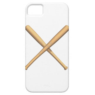 Crossed Baseball Bats iPhone 5 Covers