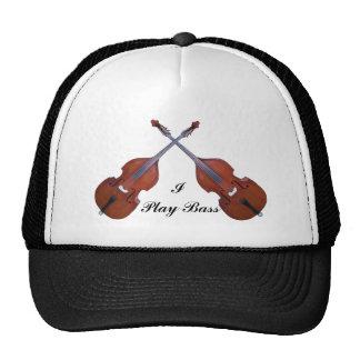 CROSSED BASS-HAT CAP