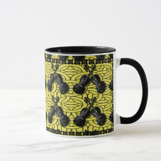 CROSSED BLACK VIOLINS-MUG MUG