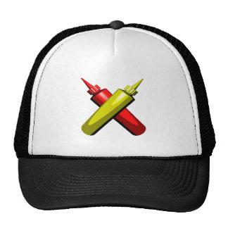 Crossed Condiments Trucker Hats
