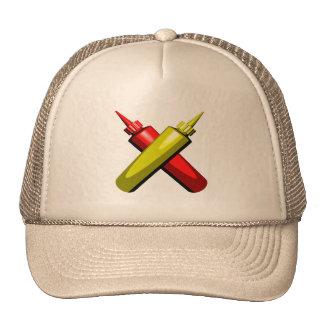 Crossed Condiments Mesh Hat