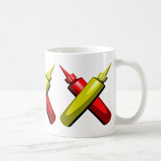 Crossed Condiments Mug