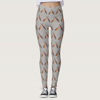CROSSED DULCIMERS--CHANGEABLE BACKGROUND LEGGINGS