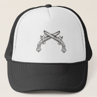Crossed Flintlocks Trucker Hat