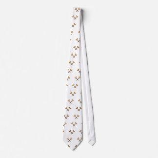 Crossed Gavels Tie
