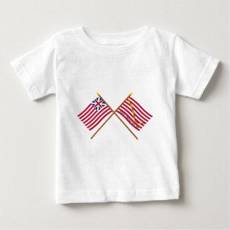 Crossed Grand Union Flag and Navy Jack Tshirt
