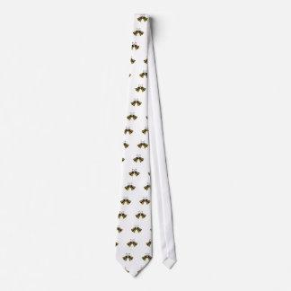 Crossed Handbells Tie