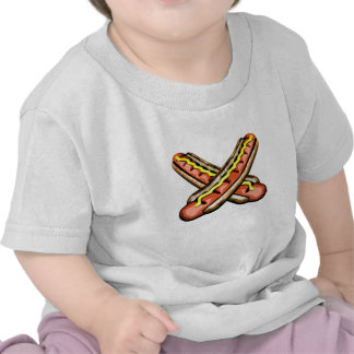 Crossed Hotdogs Shirt