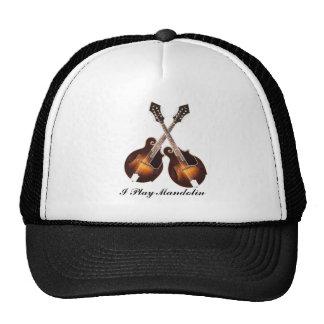 CROSSED MANDOLINS-HAT