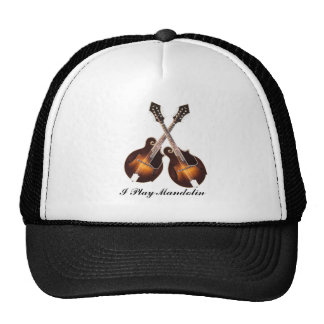 CROSSED MANDOLINS-HAT CAP