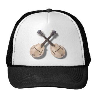 CROSSED MANDOLINS -HAT CAP