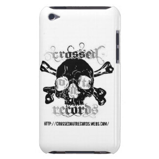 Crossed Out Records Logo Ipod Touch Case