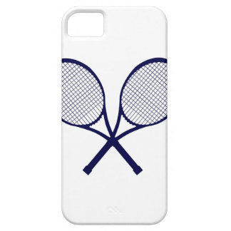 Crossed Rackets Silhouette iPhone 5 Cover