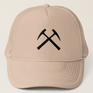 Crossed Rock Hammers Cap