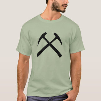 Crossed Rock Hammers T-Shirt