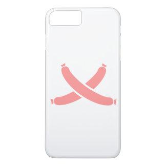 Crossed sausages iPhone 7 plus case