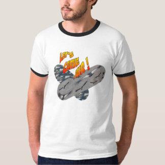 Crossed Skateboards Men's Ringer T-shirt