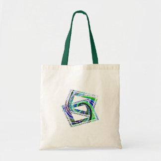 Crossed square Tote Bag
