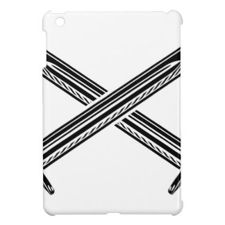 Crossed Swords Illustration iPad Mini Case