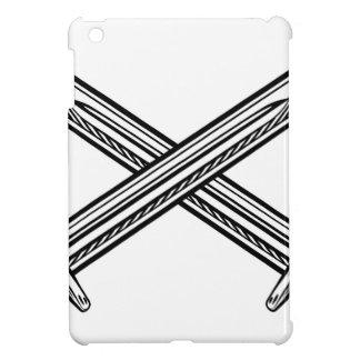 Crossed Swords Retro Style iPad Mini Cover