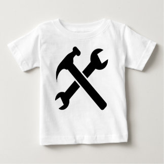 Crossed Tools Baby T-Shirt