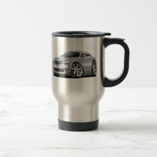 Crossfire Silver Car Travel Mug