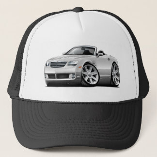 Crossfire White Convertible Trucker Hat