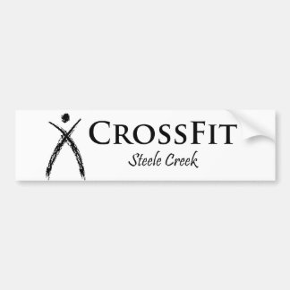 CrossFit Logo black Bumper Sticker