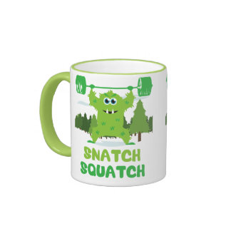 CrossFit Snatch Squatch Coffee Mug
