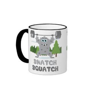 CrossFit Snatch Squatch Mugs