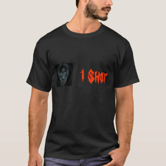 Crosshair Skull 2, 1 Shot T-Shirt