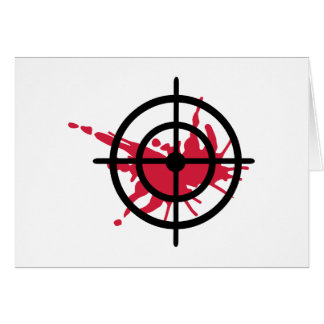 Crosshairs blood card