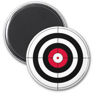 Crosshairs BullsEYE Target 6 Cm Round Magnet