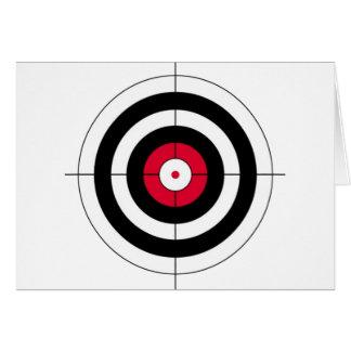 Crosshairs BullsEYE Target Card