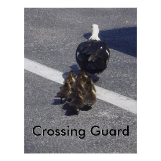 Crossing guard poster