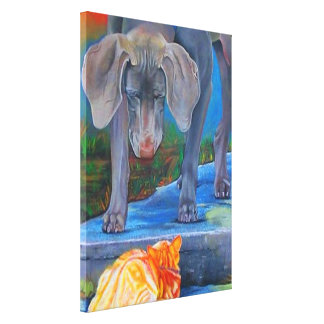 Crossing Paths Gallery Wrap Canvas