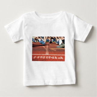 Crossing the Finish Line - Accomplishment or Runne Baby T-Shirt