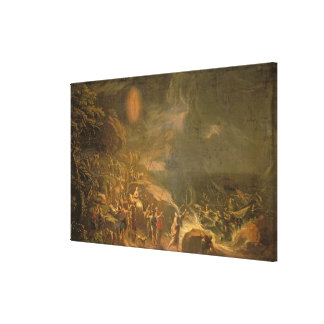 Crossing the Red Sea Gallery Wrapped Canvas