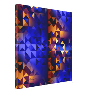 Crossing Time Gallery Wrapped Canvas