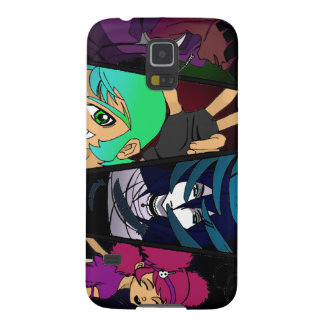 Crossover Characters Galaxy S5 Case