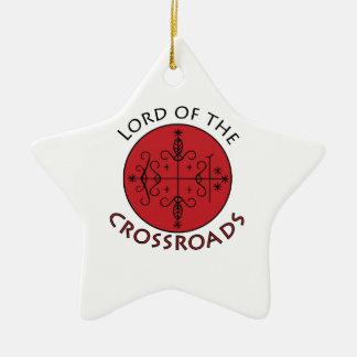 Crossroads Lord Ceramic Star Decoration