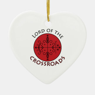 Crossroads Lord Ceramic Heart Decoration