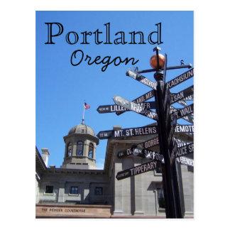 Crossroads postcard