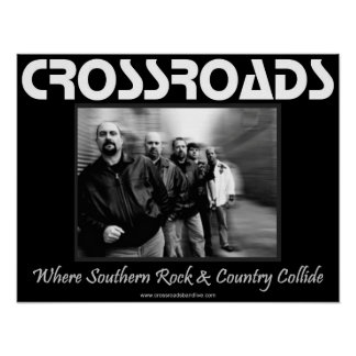 CROSSROADS Small Poster