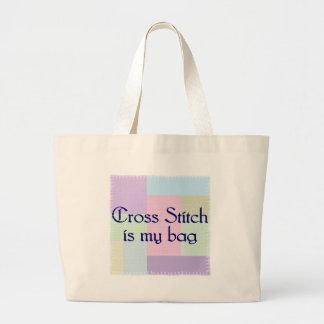 Crosstitch Tote Bag