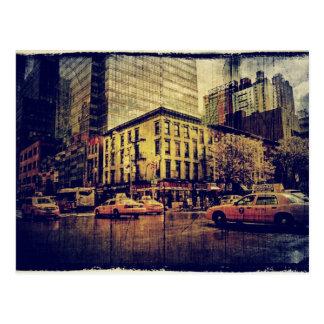 crosstown traffic postcard