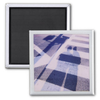 crosswalk square magnet